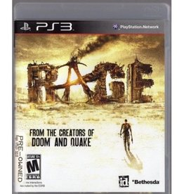 RAGE - PS3 PrePlayed