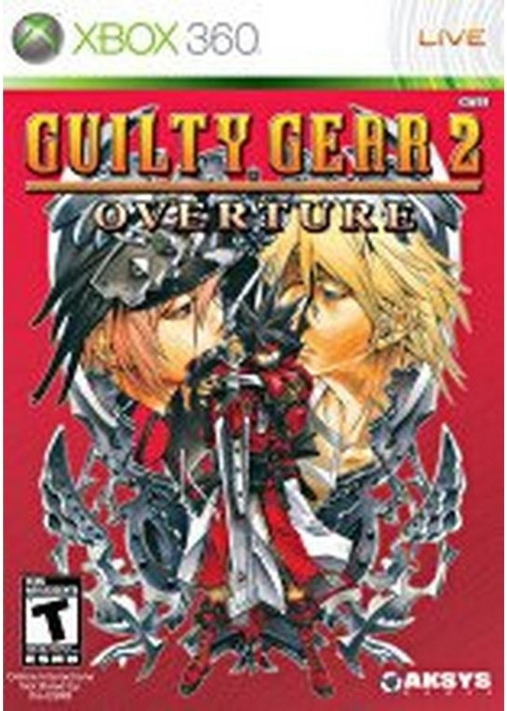 Guilty Gear 2 Overture - XB360 PrePlayed