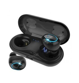 Kissral True Wireless Bluetooth Earbuds w/ Charging Case