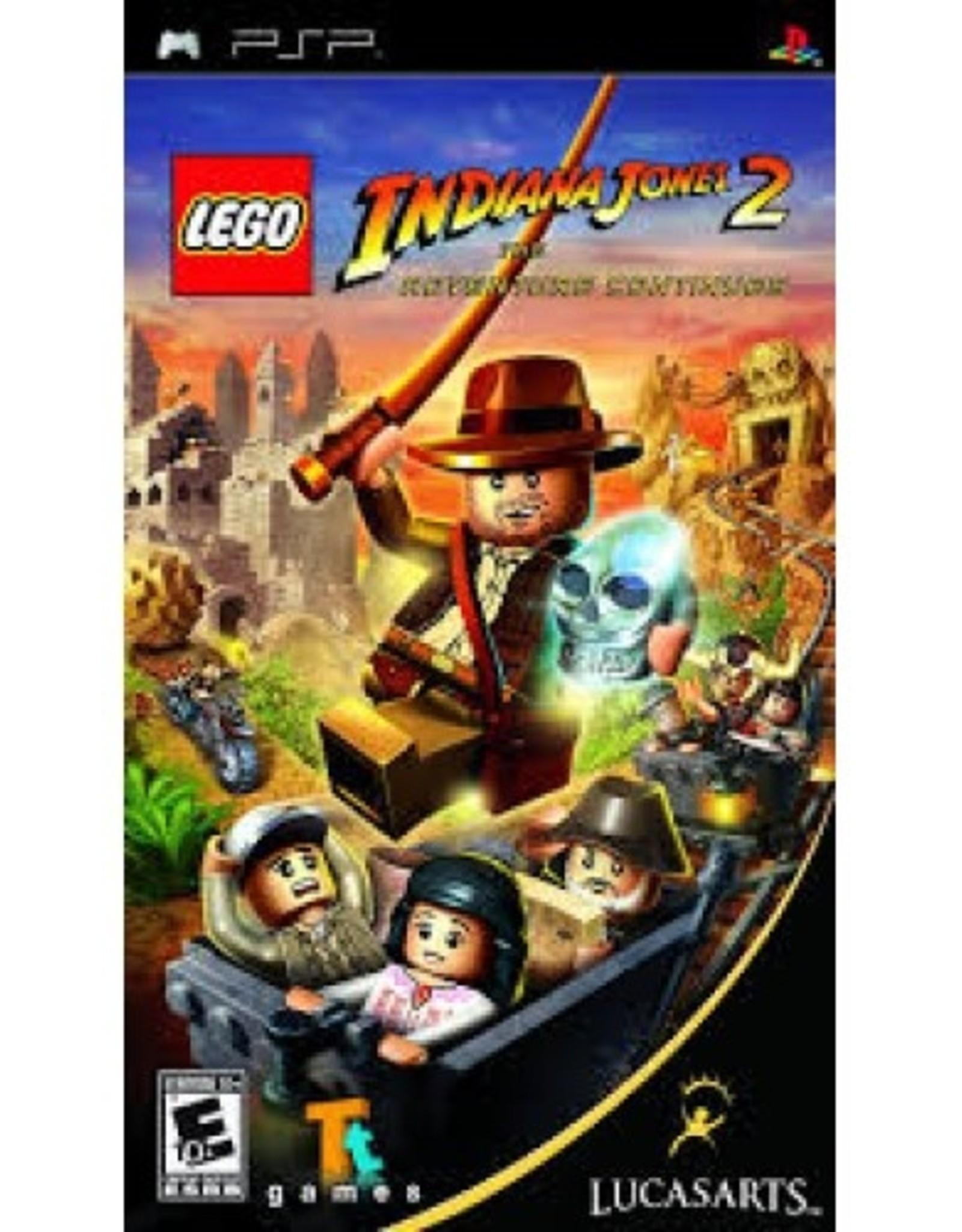 LEGO: Indiana Jones - PSP PrepPlayed