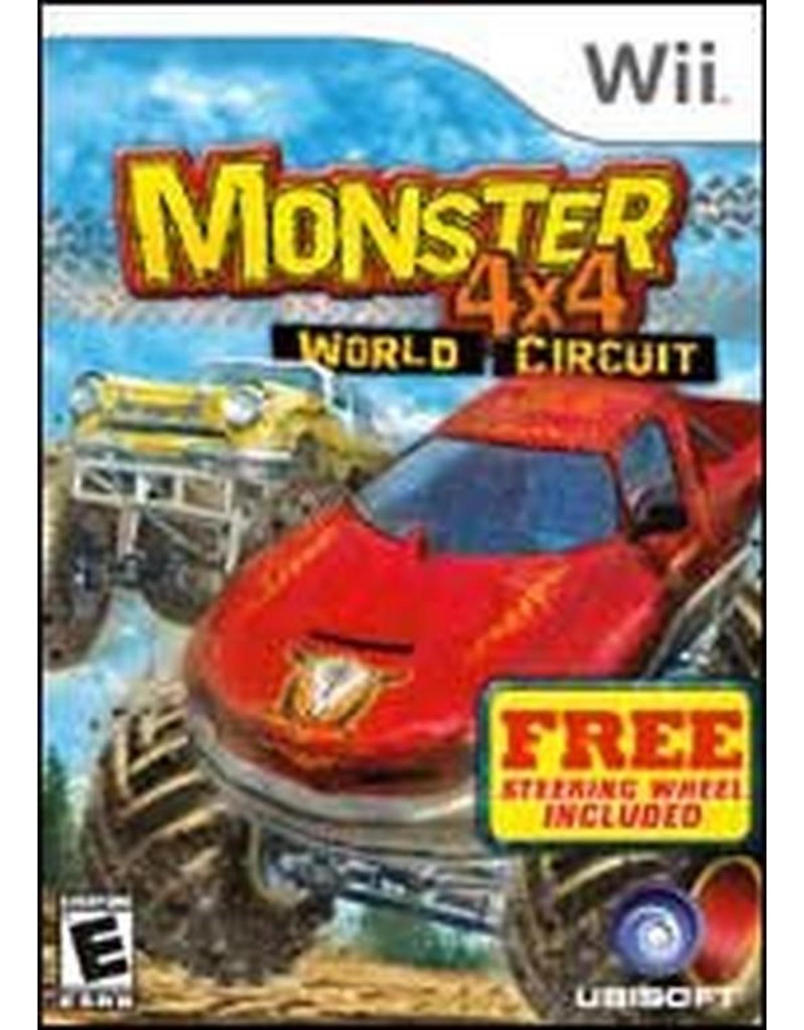 Monster 4x4 World Circuit - Wii PrePlayed