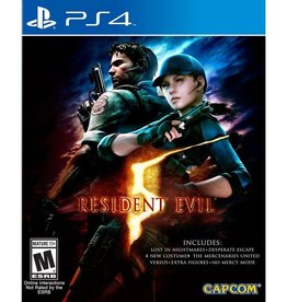 Resident Evil 5 - PS4 PrePlayed