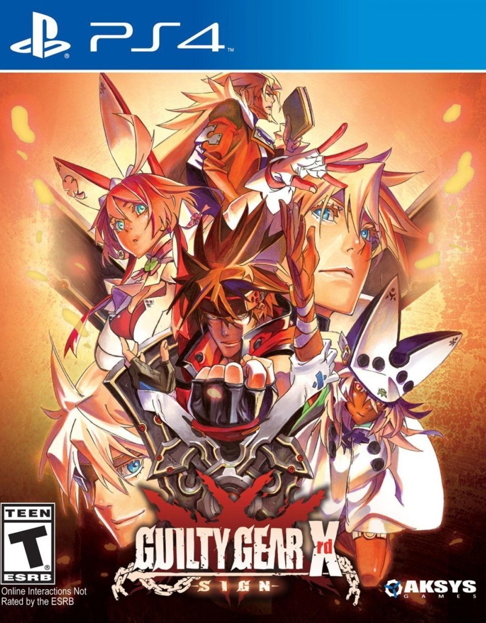 Guilty Gear XRD REV 3 - PS4 PrePlayed
