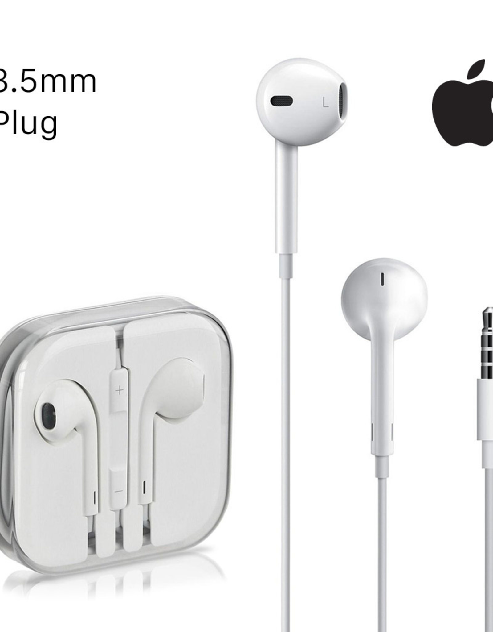 Apple Apple EarPods Earphones w/ Mic 3.5mm Connection