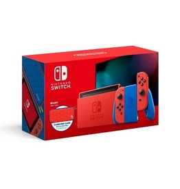 Nintendo Nintendo Switch System Mario Red & Blue Edition