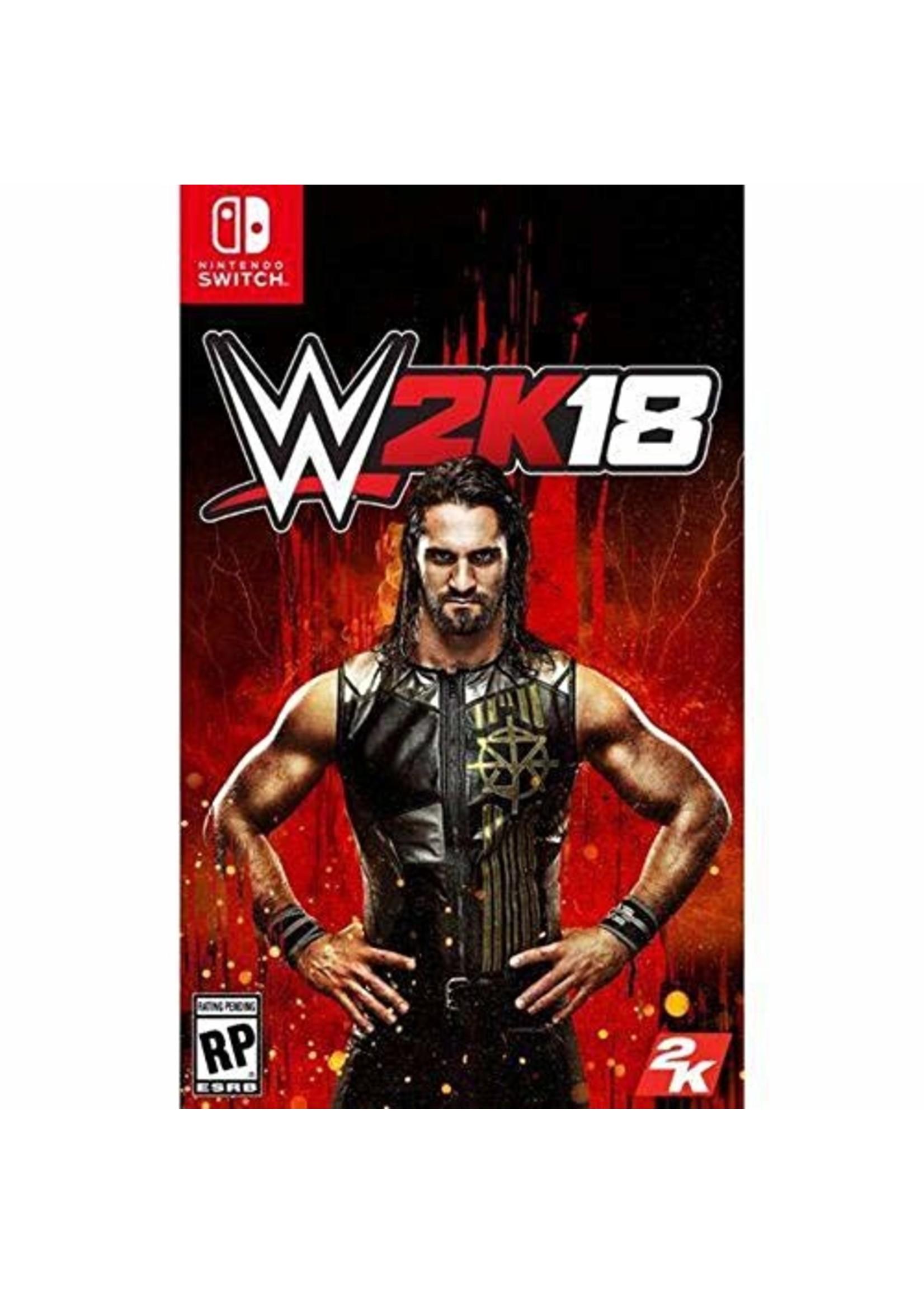 WWE 2K18 - SWITCH PrePlayed