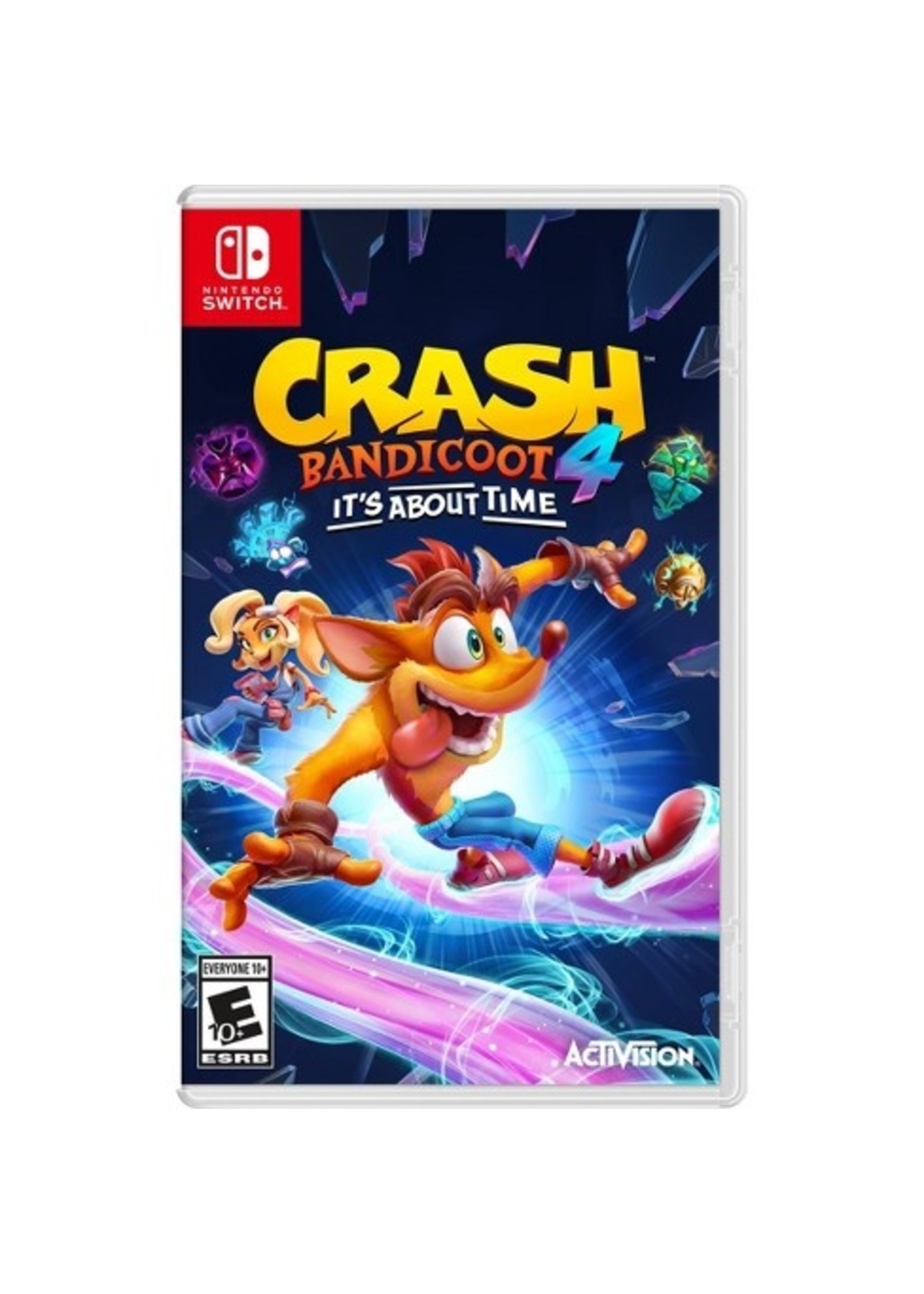 Crash Bandicoot 4 - It's About Time - SWITCH NEW