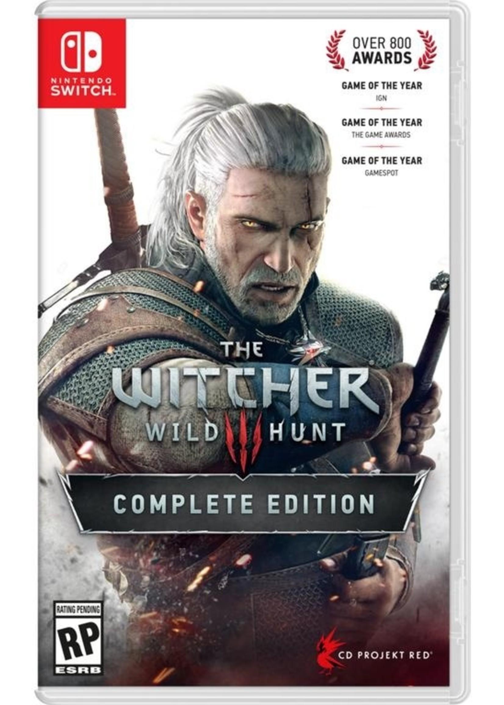Witcher 3 Wild Hunt - SWITCH PrePlayed
