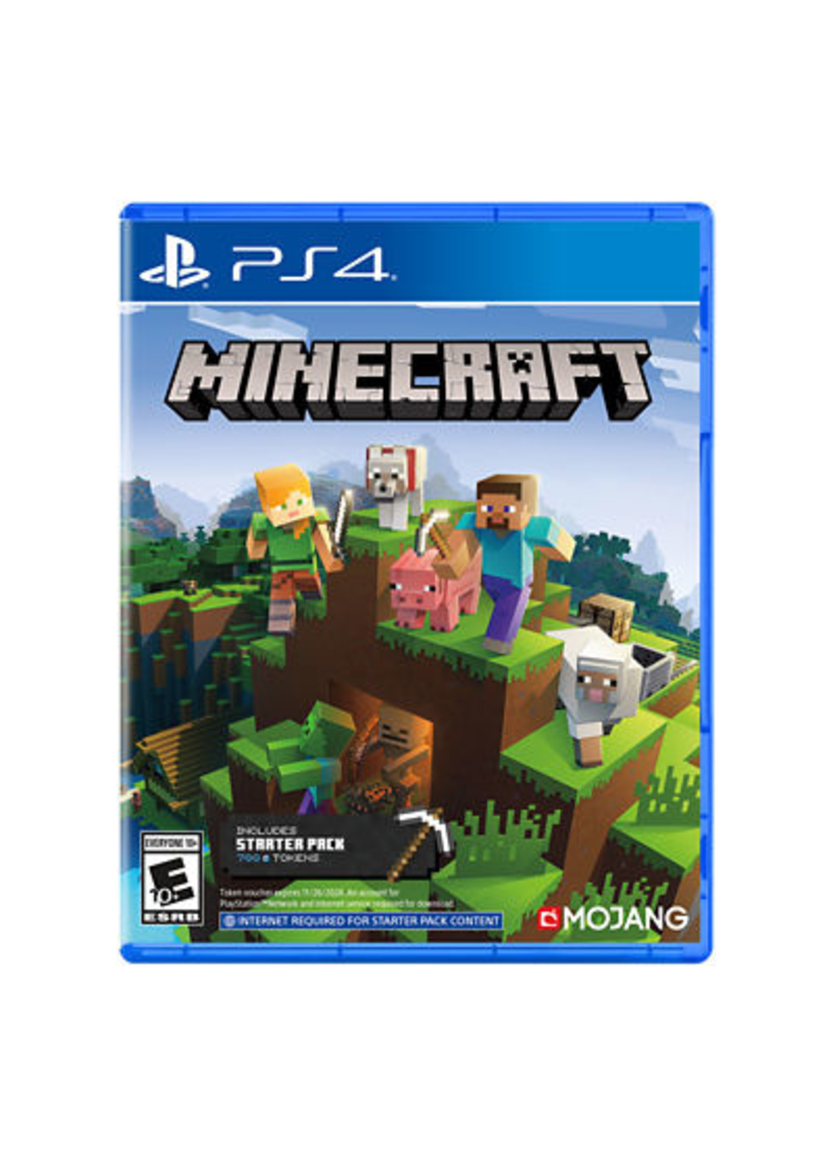 Minecraft Starter Collection - PS4 NEW