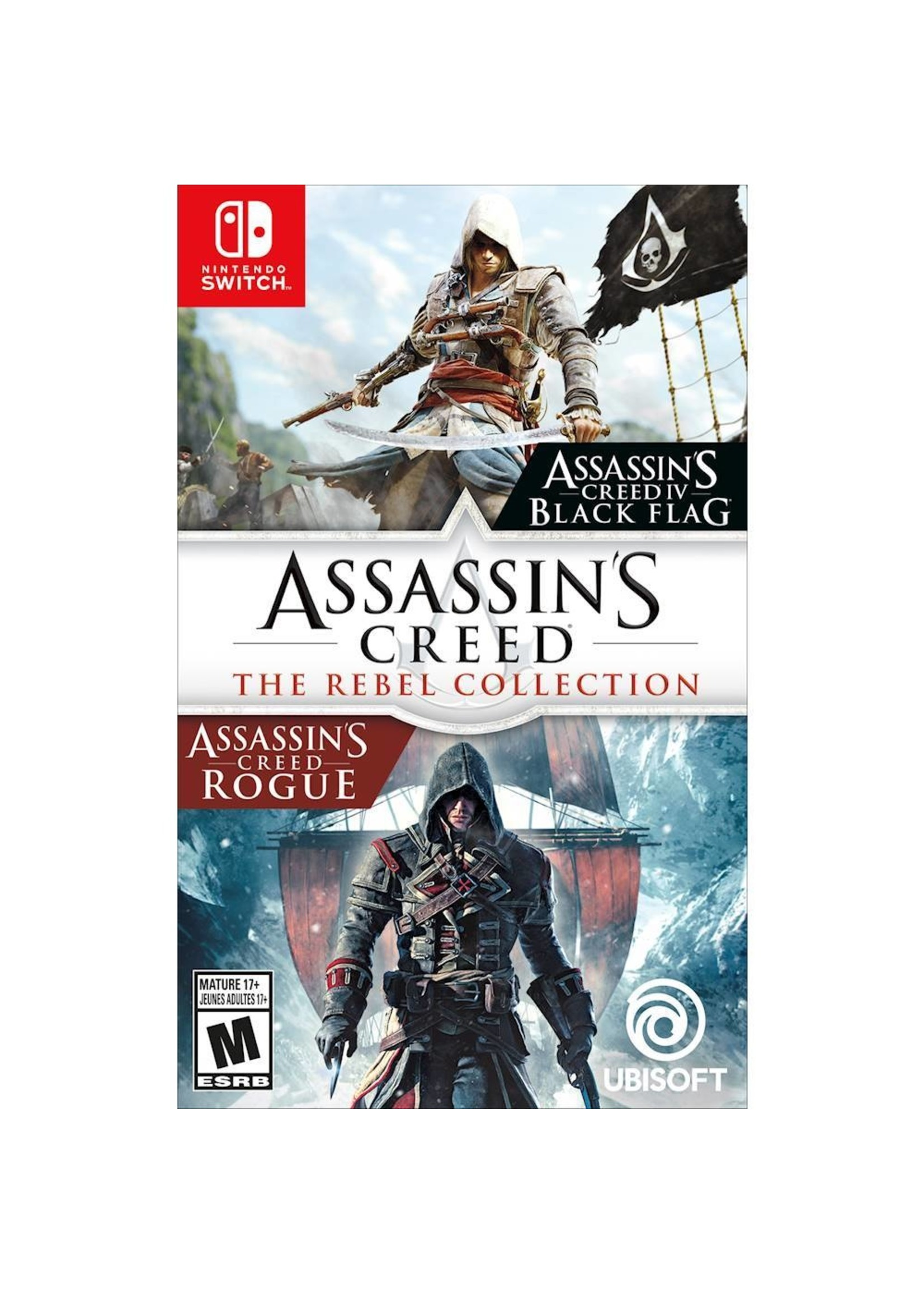 Assassin's Creed 4 + Rogue - SWITCH NEW