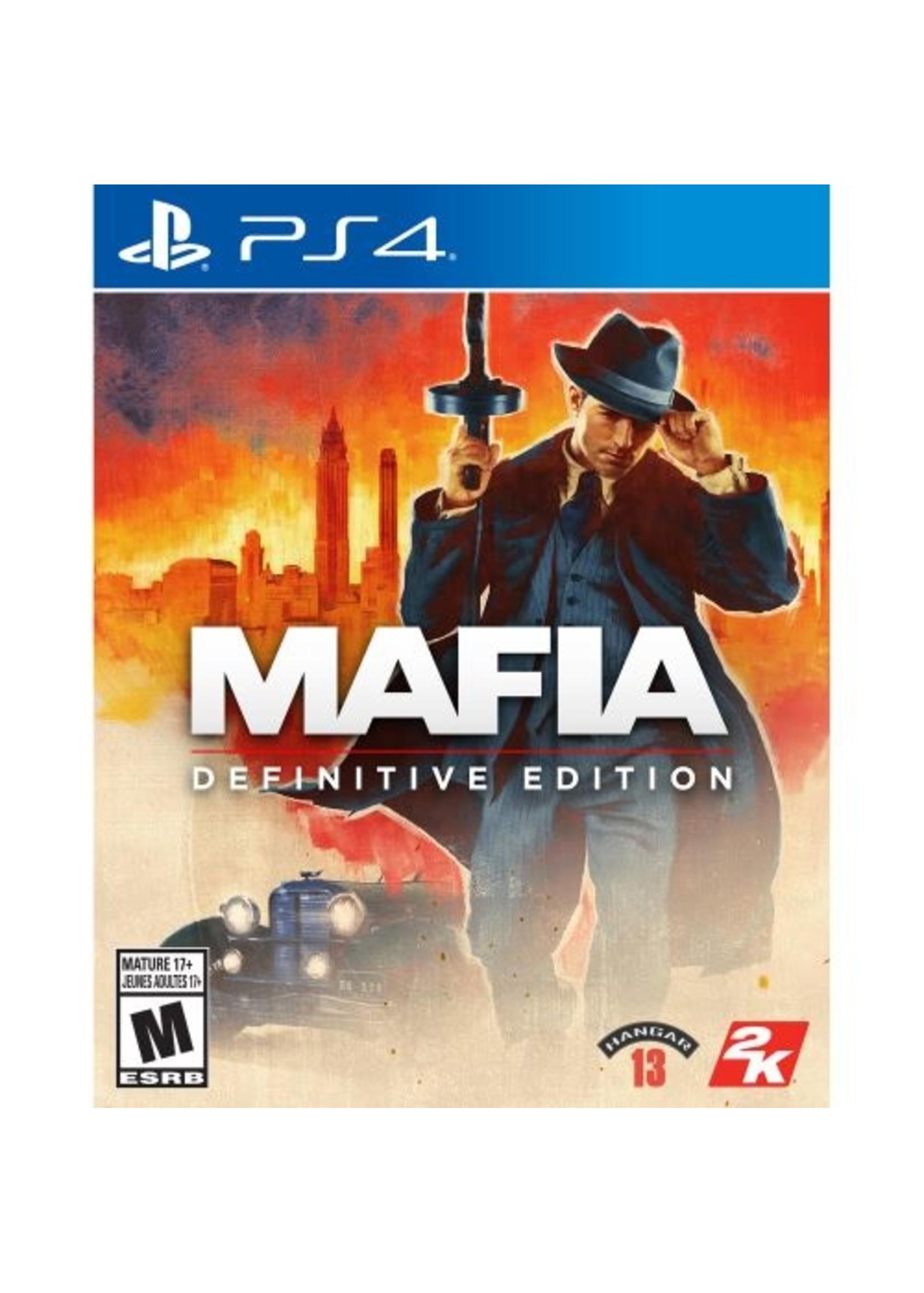 Mafia Definitive Edition - PS4 NEW