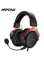 Mpow Air SE Headset with 3D Sound Detachable Noise-Cancellation Mic