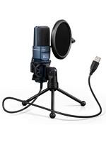 TONOR  TC-777 USB Gaming Microphone W/ Tripod Stand & Pop Filter