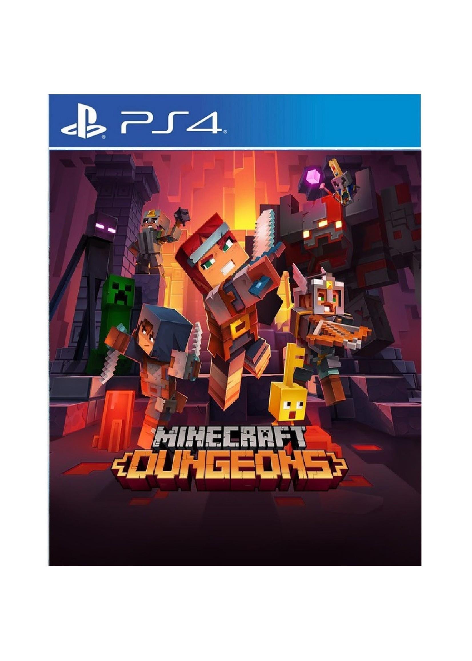 Minecraft Dungeons Hero - PS4 NEW