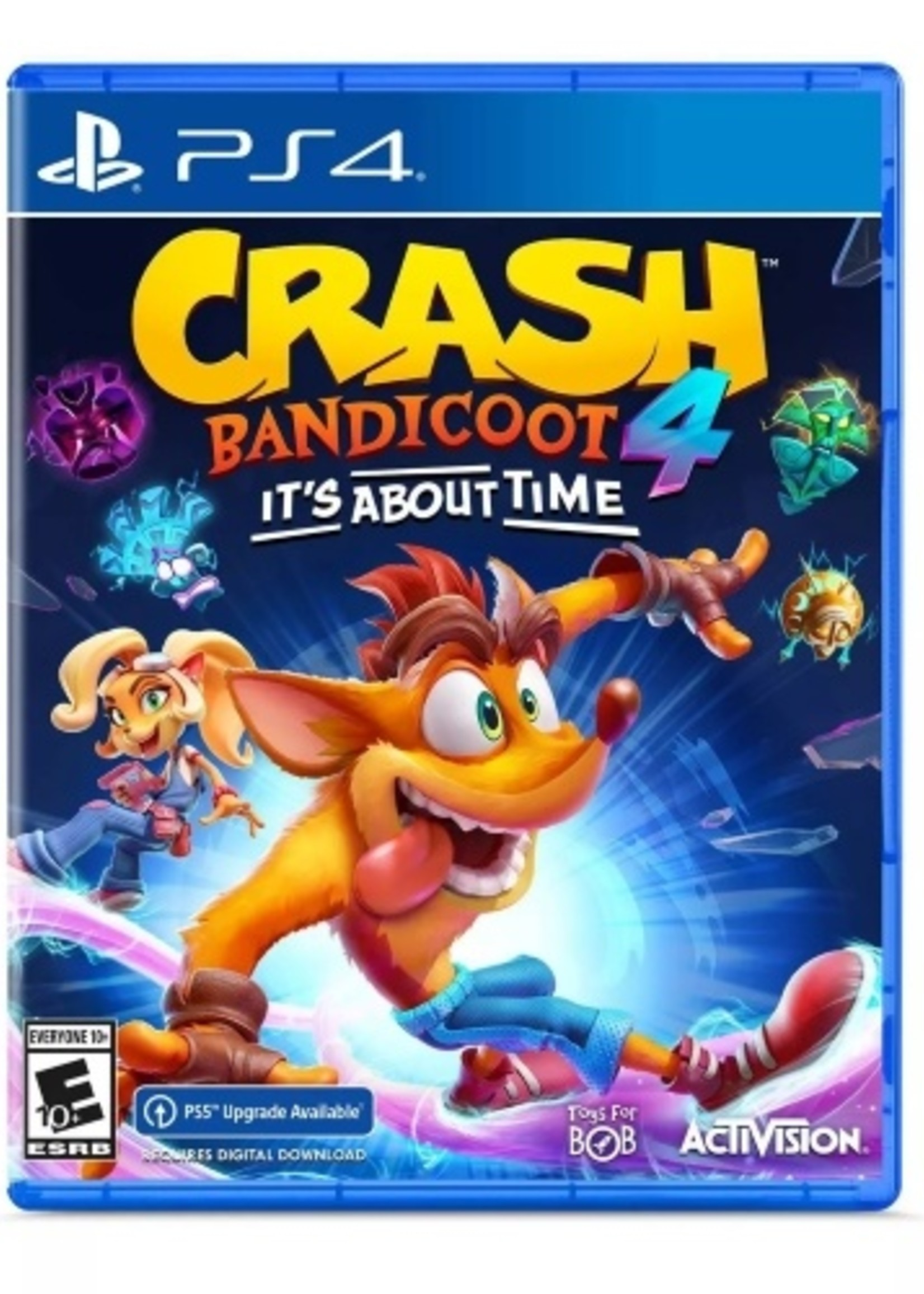 Crash Bandicoot 4 - It's About Time - PS4 NEW