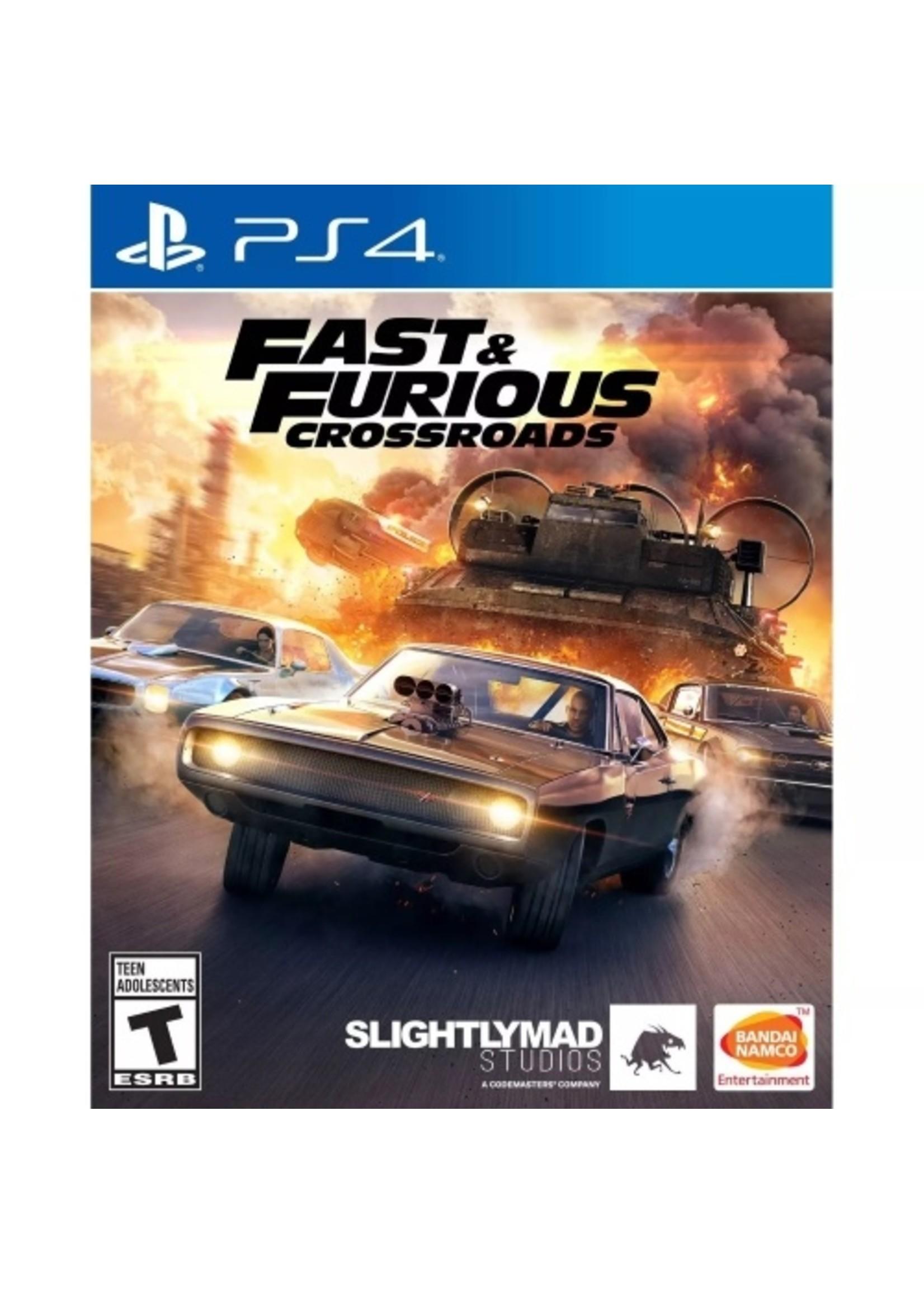 Fast & Furious Crossroads - PS4 NEW