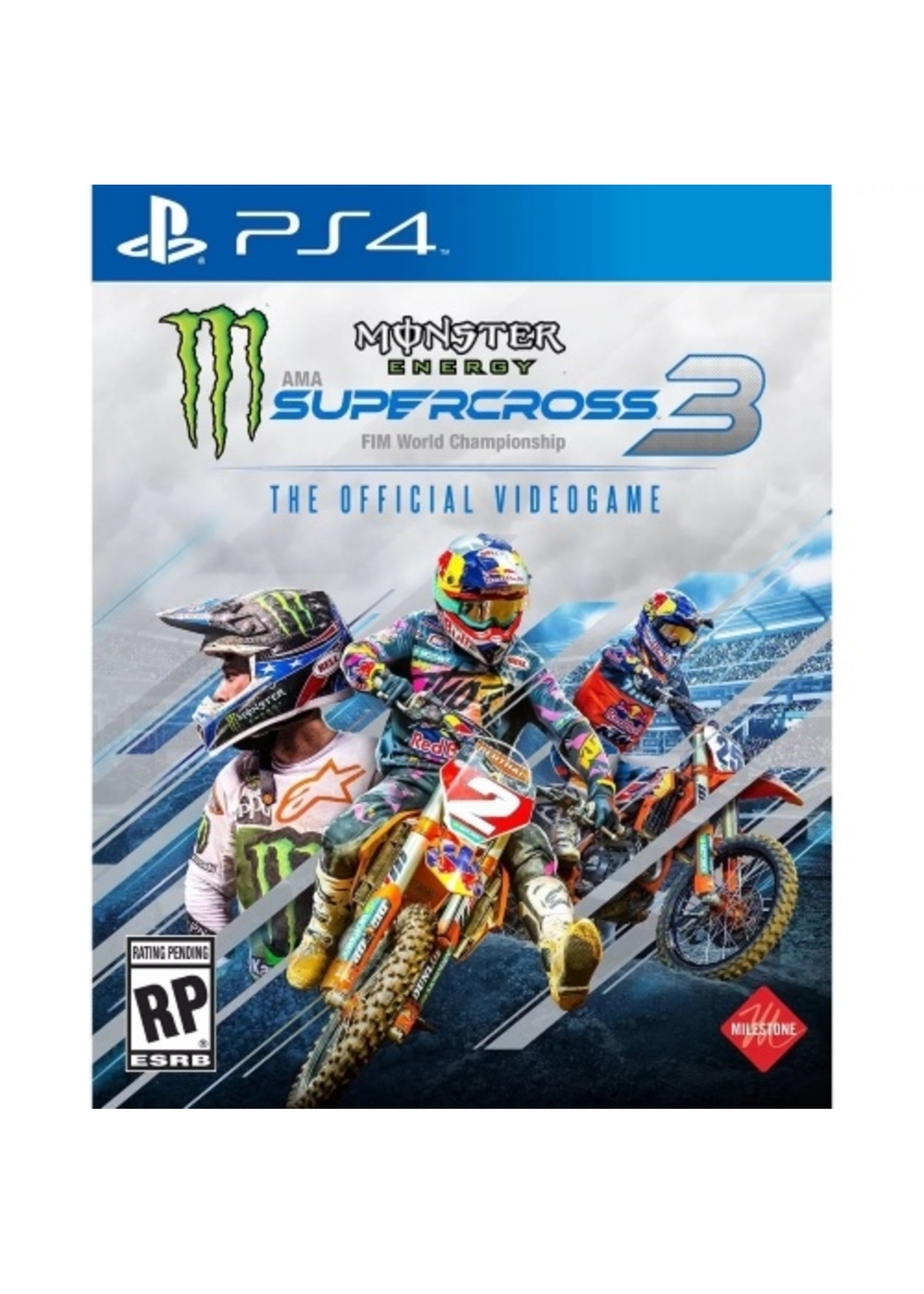 Monster Energy Supercross 3 - PS4 NEW