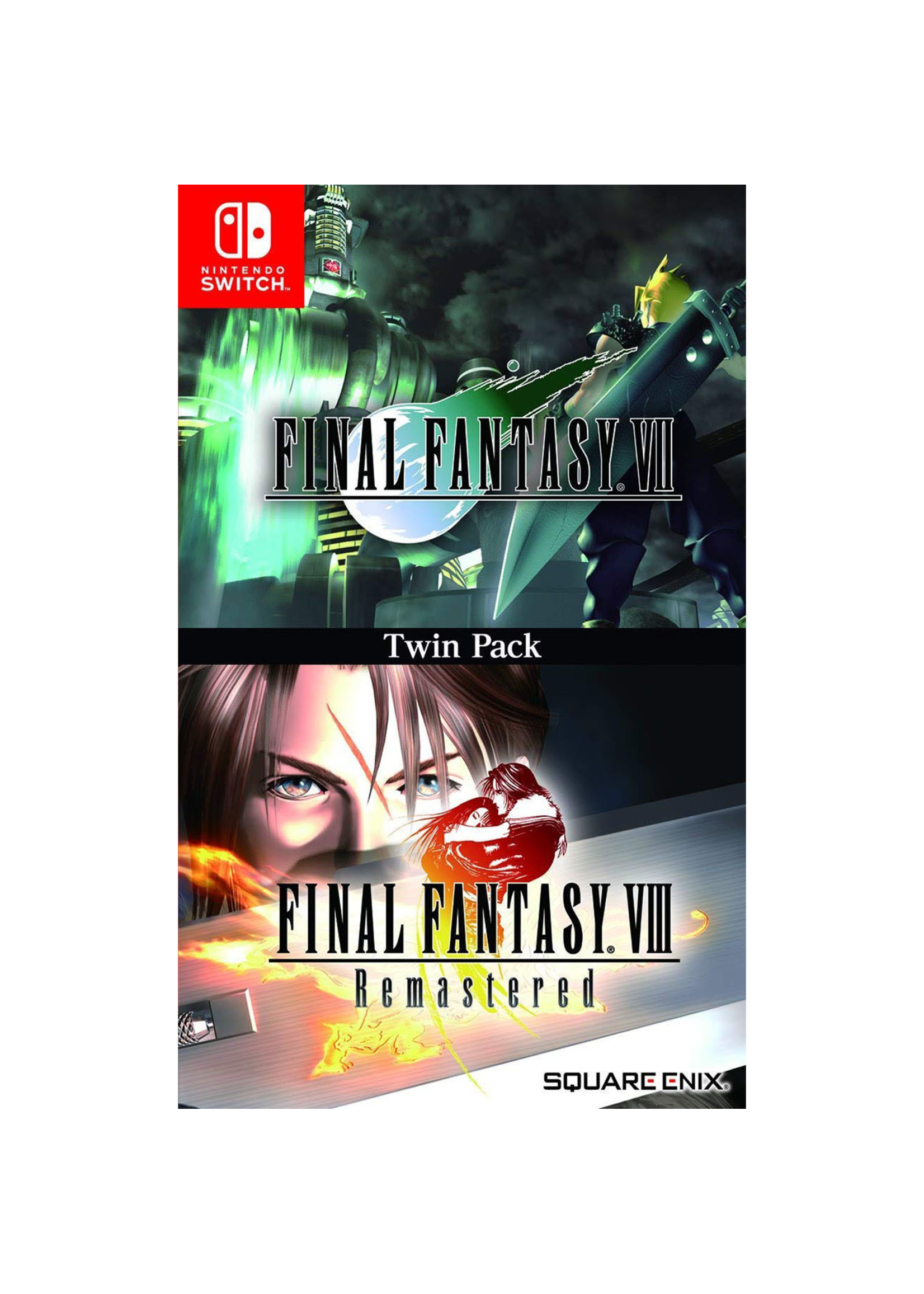 Final Fantasy 7 & 8 Remastered - SWITCH NEW