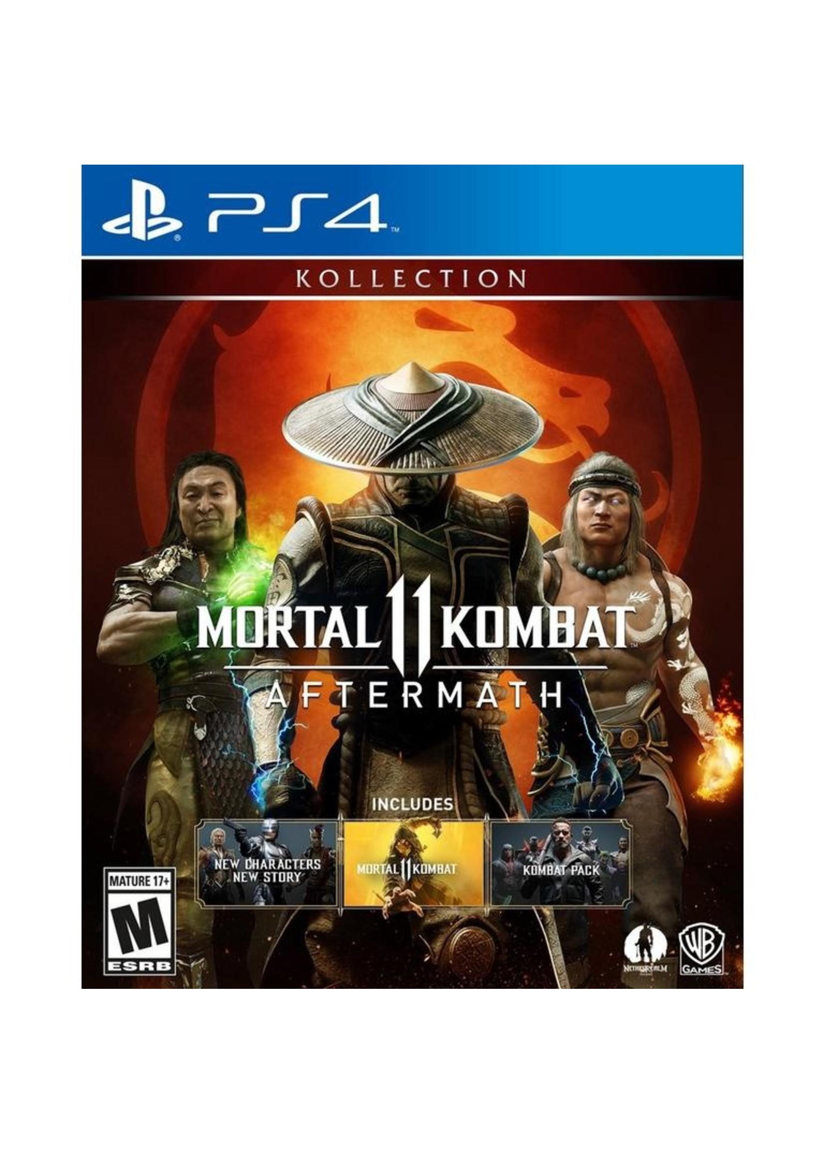 Mortal Kombat 11 Aftermath - PS4 NEW