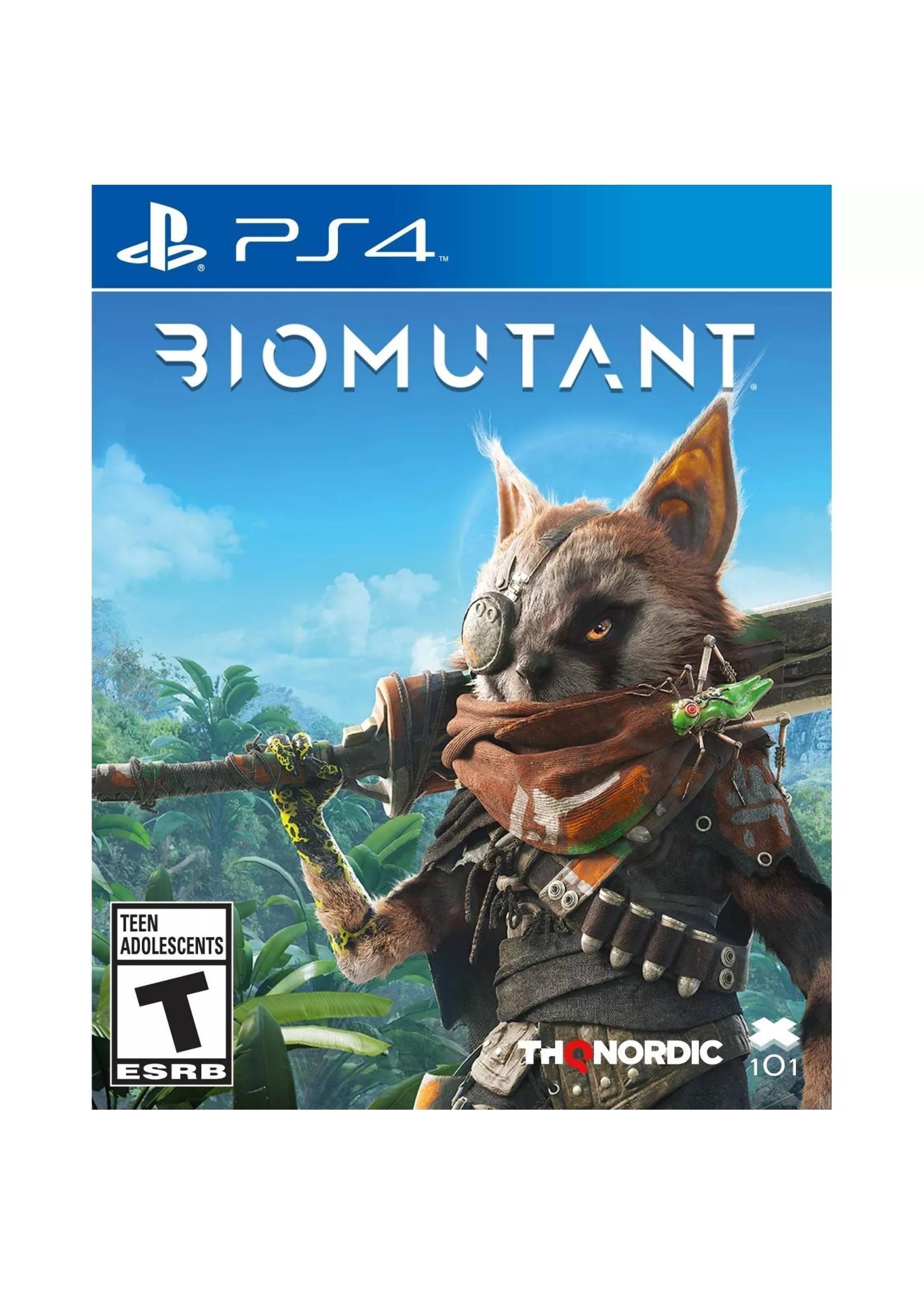 Biomutant - PS4 NEW
