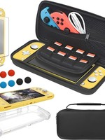 Switch Lite Carrying Case Bundle with TPU Case and Screen Protector