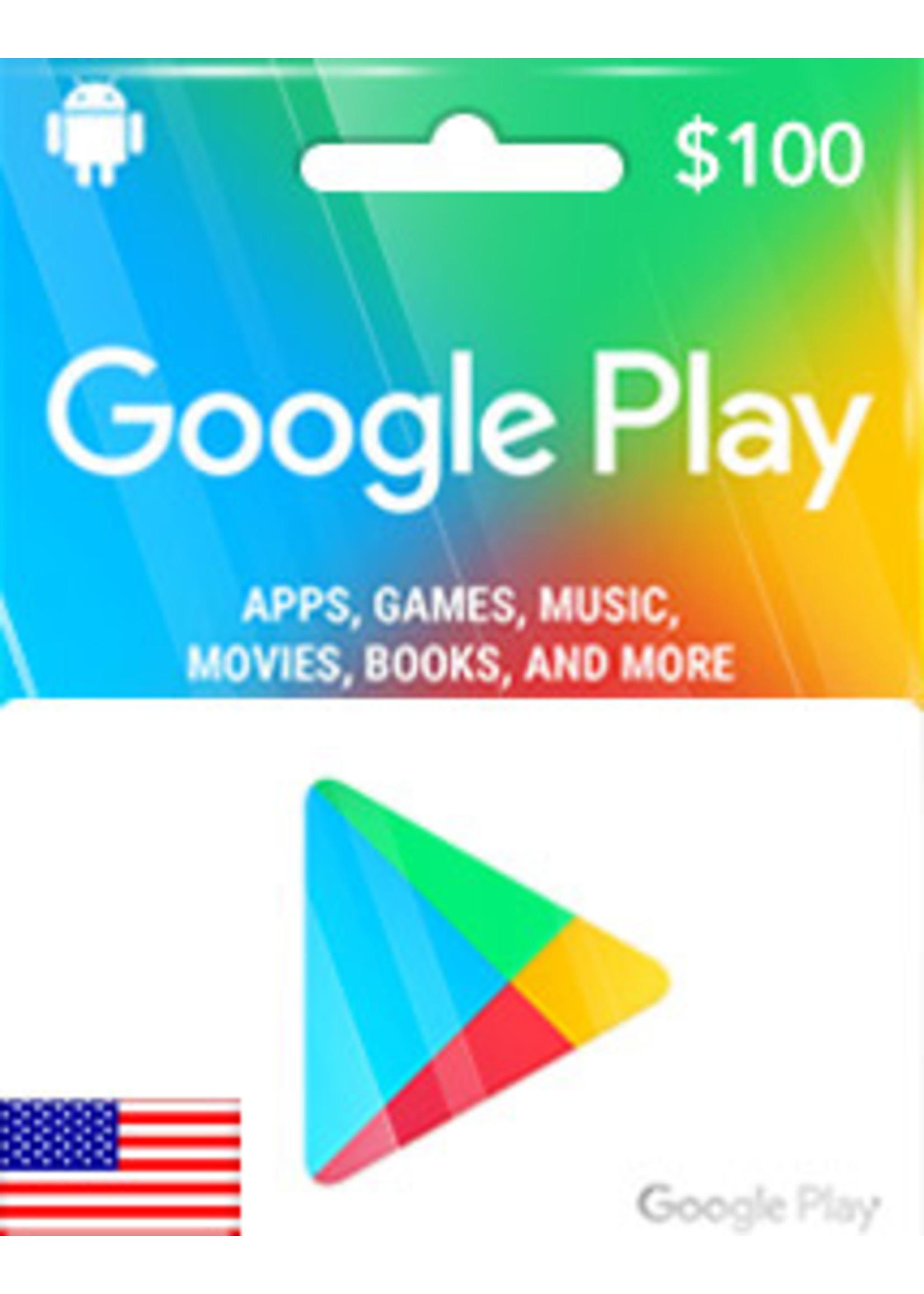 Google Google Play $100
