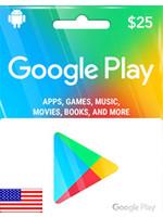 Google Google Play $25