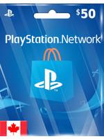 Sony PlayStation PSN CAD $50 (CA Region)