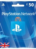Sony PlayStation PSN GBP 50 (UK Region)