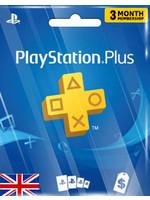 Sony PlayStation PSN 3 Month (UK Region)