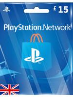 Sony PlayStation PSN GBP 15 (UK Region)