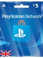 Sony PlayStation PSN GBP 5 (UK Region)
