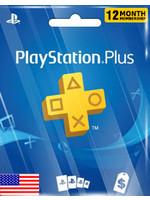 Sony PlayStation PSN 12 Months (US Region)