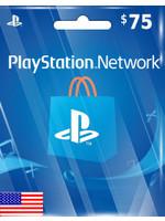 Sony PlayStation PSN $75 (US Region)