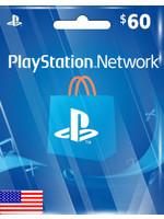 Sony PlayStation PSN $60 (US Region)