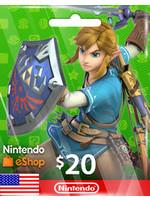 Nintendo Nintendo eShop $20