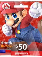 Nintendo Nintendo eShop $50