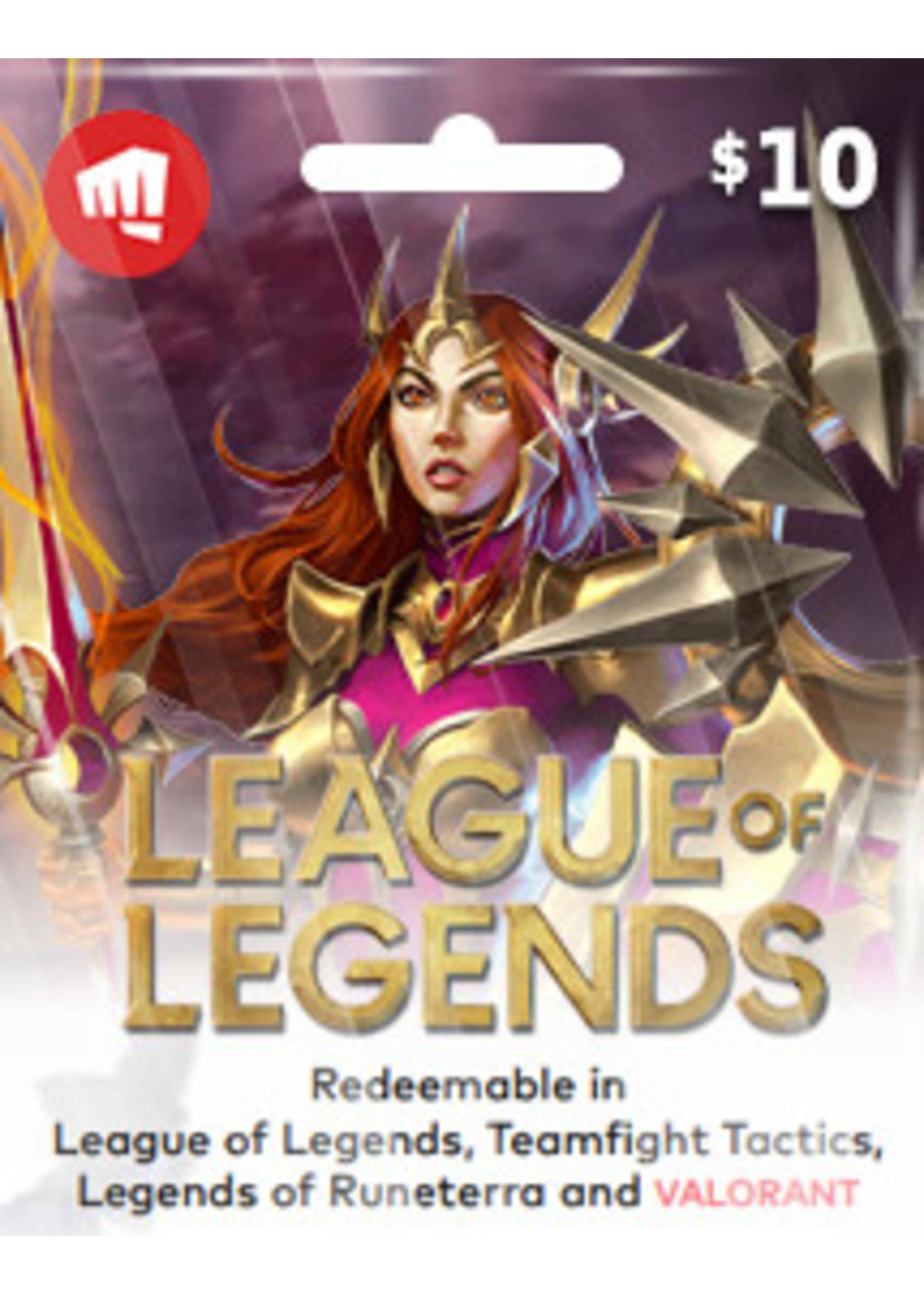 League of Legends $10