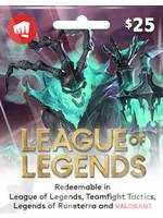 League of Legends $25