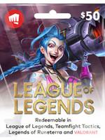 League of Legends $50