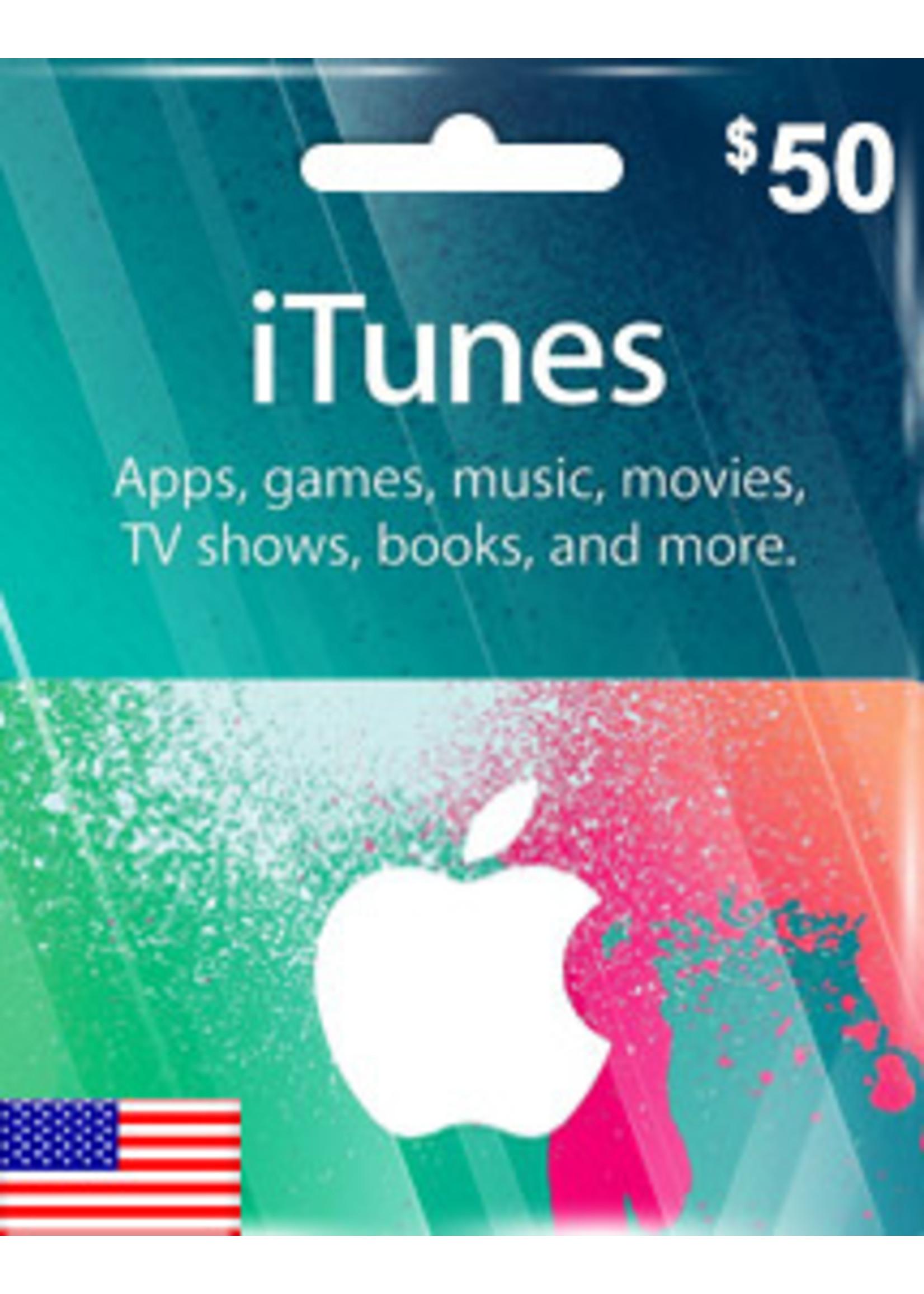 Apple Apple iTunes $50