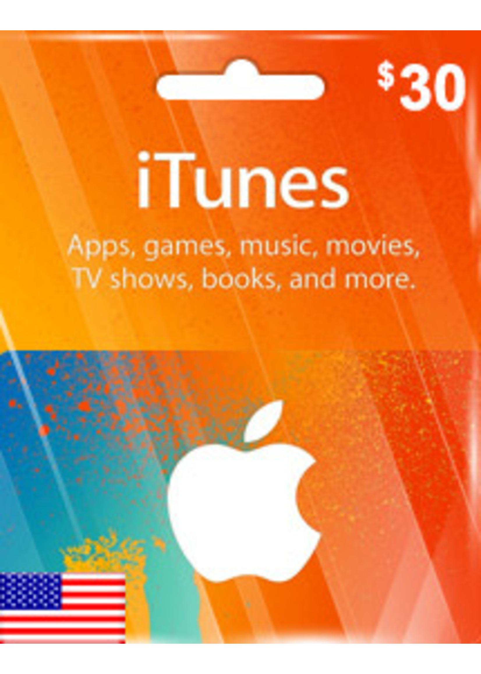 Apple Apple iTunes $30