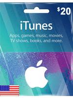 Apple Apple iTunes $20