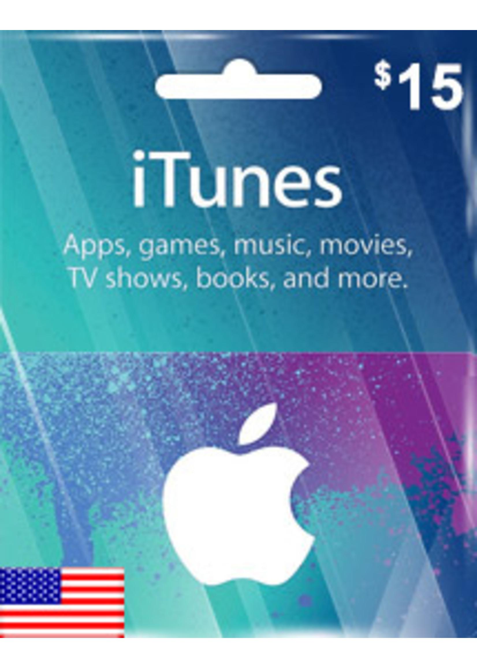 Apple Apple iTunes $15