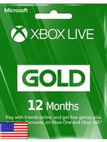 Microsoft Microsoft Xbox 12 Months Gold Membership
