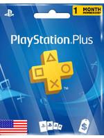 Sony PlayStation PSN 1 Month (US Region)