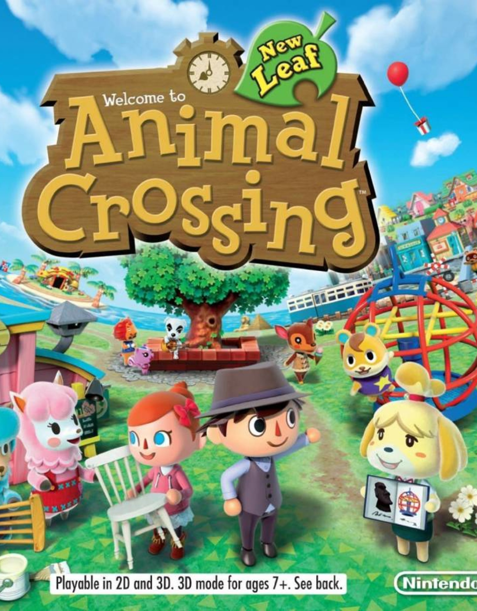 Animal Crossing New Leaf - 3DS NEW
