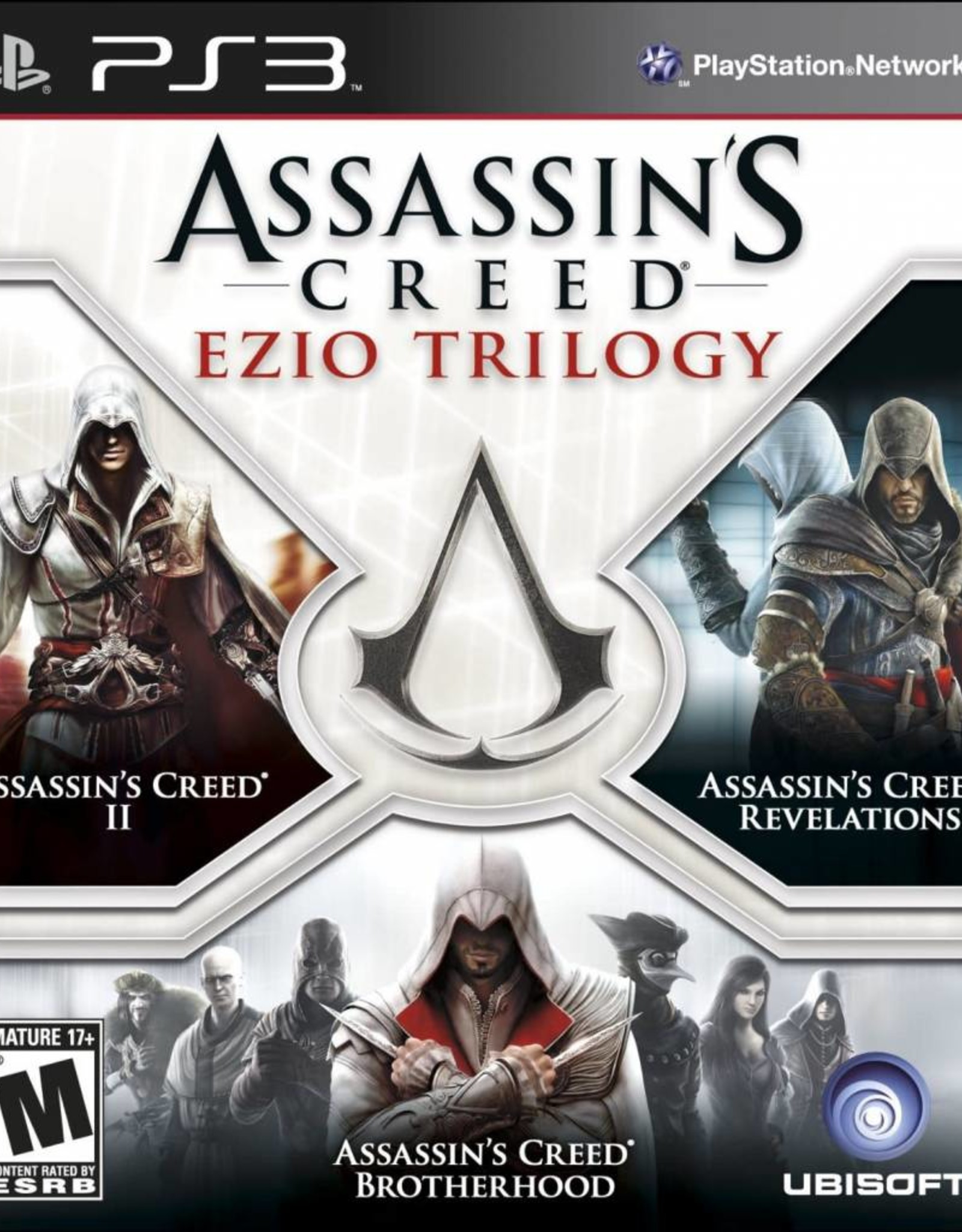 Assassin's Creed Ezio Trilogy - PS3 NEW