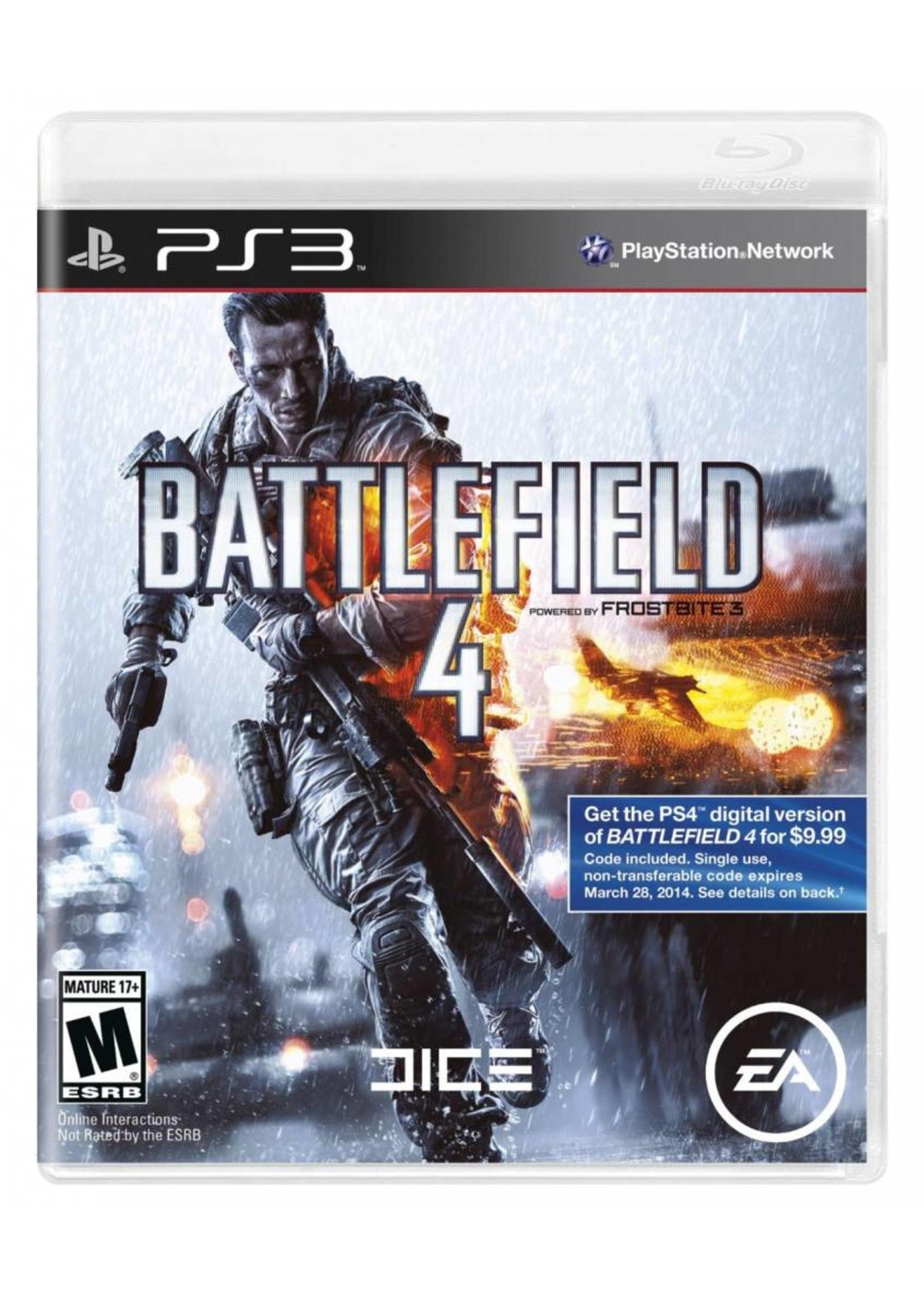 Battlefield 4 - PS3 NEW