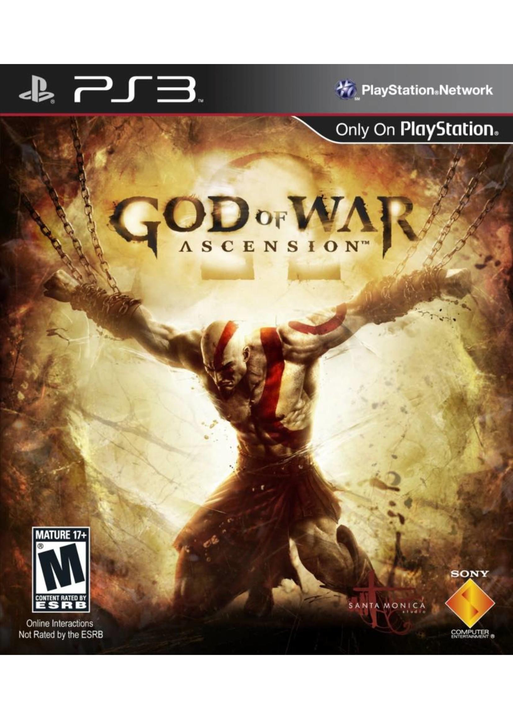 God of War Ascension - PS3 NEW